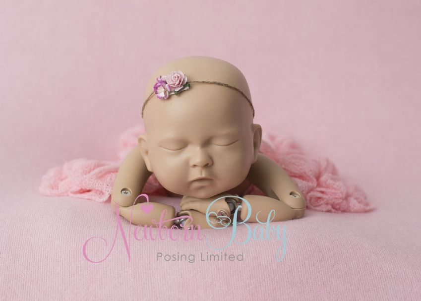 Pink Backdrop | Newborn Baby Posing Limited